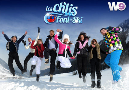 Les Ch'tis d'Ibiza de W9 posent leurs bagages dans les montagnes autrichiennes le 5 mars
