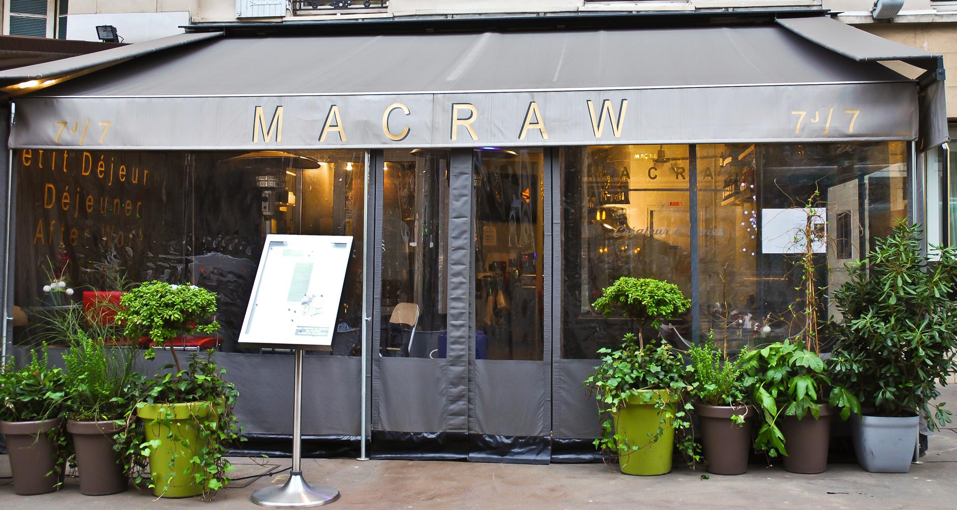 Macraw, le cru incroyable