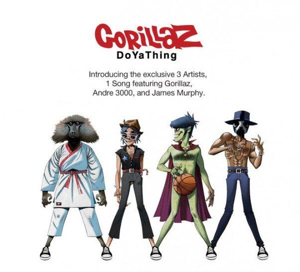 Gorillaz chez Converse