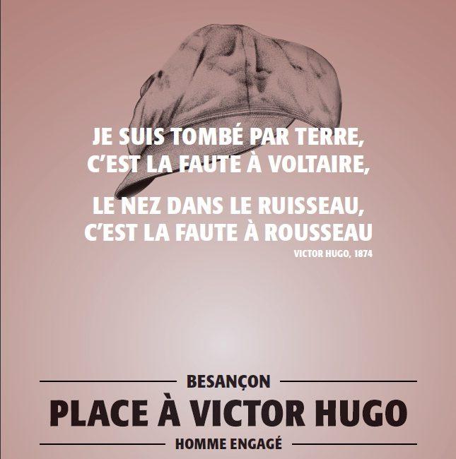 Victor Hugo célébré en sa ville natale de Besançon