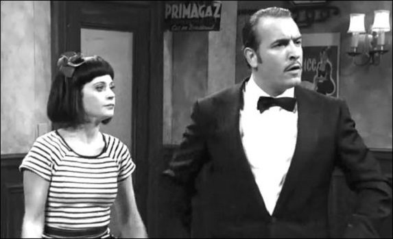 Jean Dujardin parodie <em></noscript>The Artist</em> au Saturday Night live