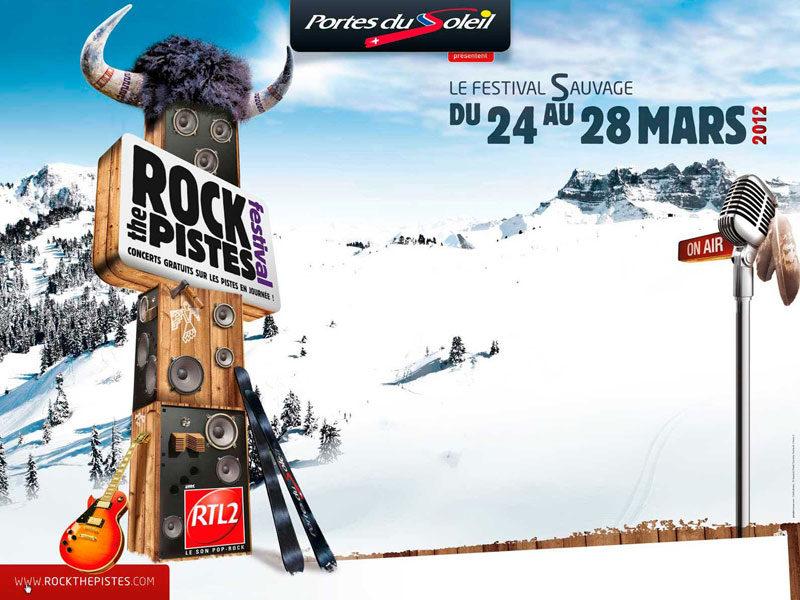 Le Festival hivernal Rock The Pistes se tient du 24 au 28 mars aux Portes du Soleil