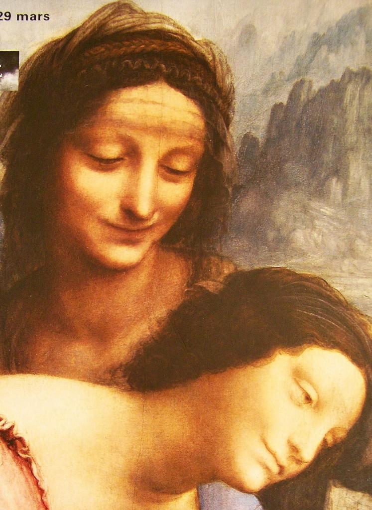La Sainte Anne se refait une beauté au Louvre