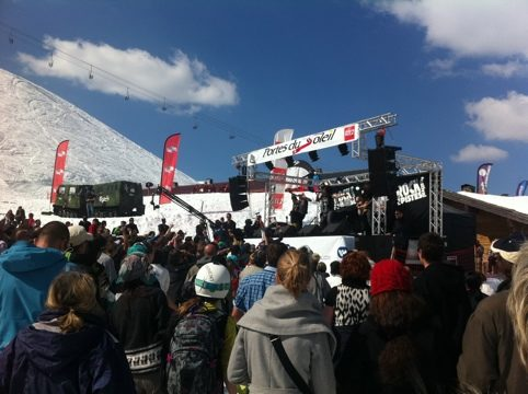 Rock the pistes-J3-Pogo sur neige avec Shaka Ponk