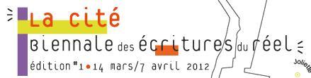 Biennale Ecritures Réel