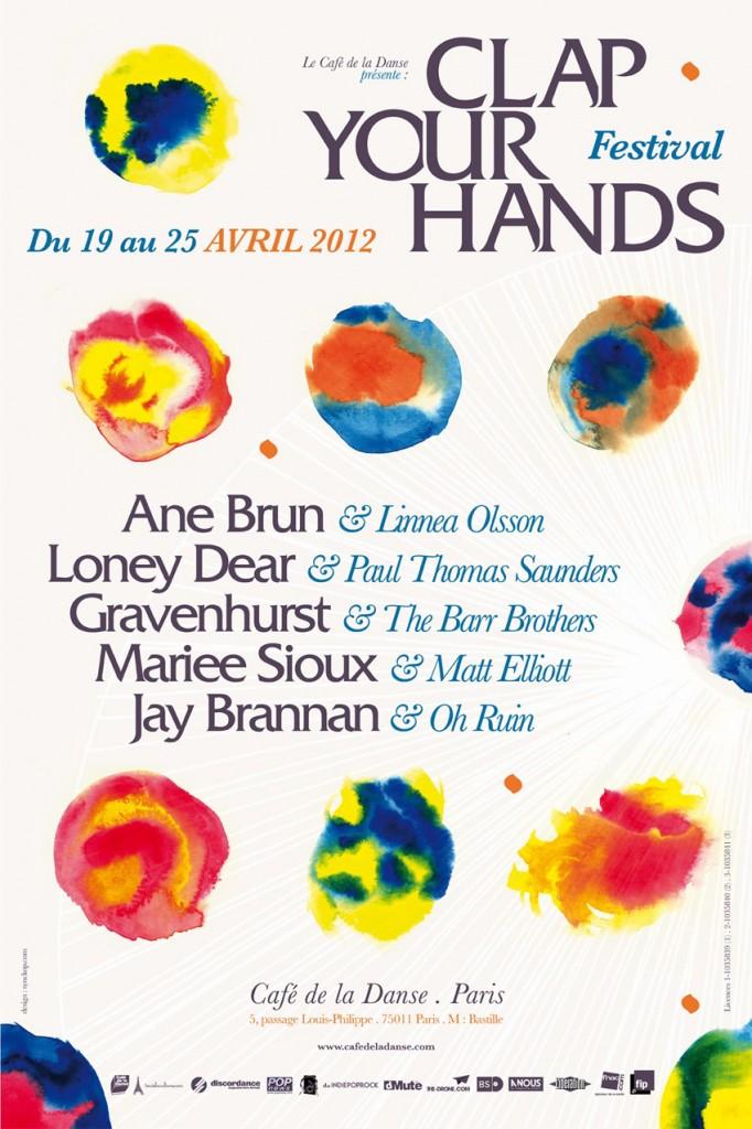 Seconde édition du festival Clap Your Hands