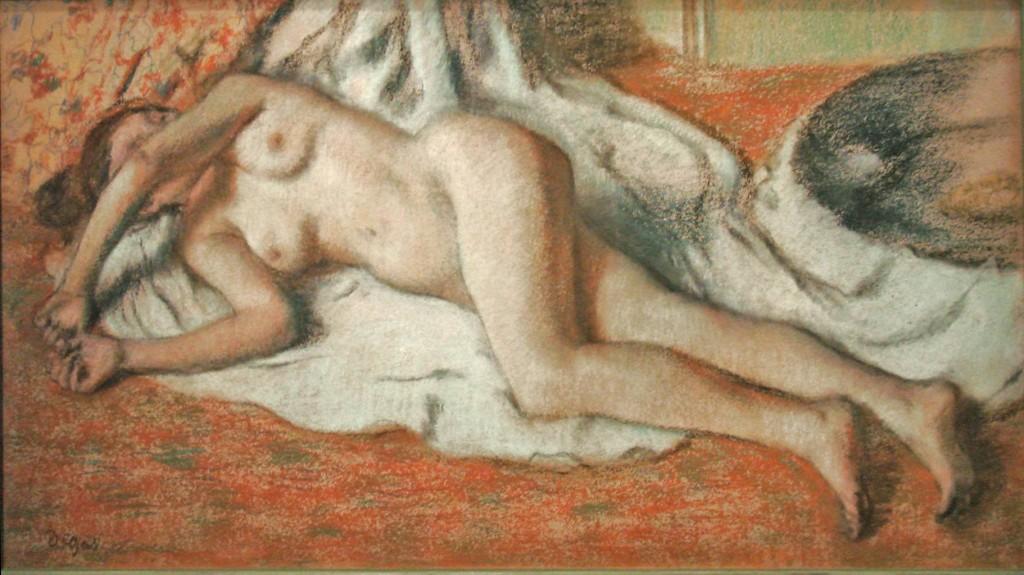 Le nu selon Degas au musée d'Orsay
