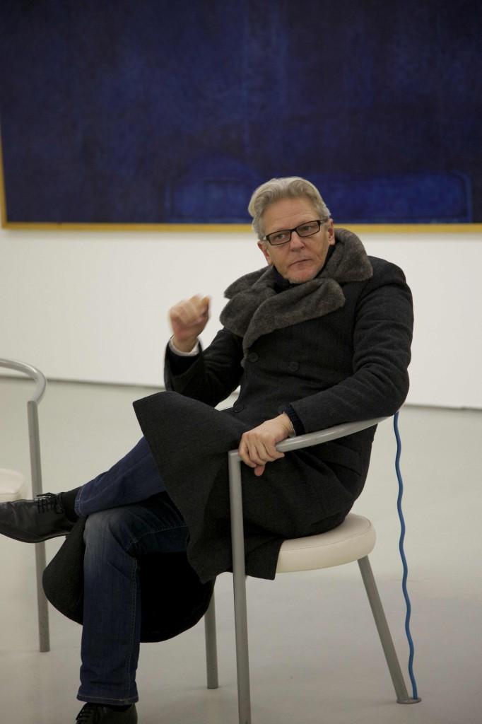 Jan Fabre délivre les reliefs des ombres de l'heure bleue (Interview au MAM de Saint-Etienne)