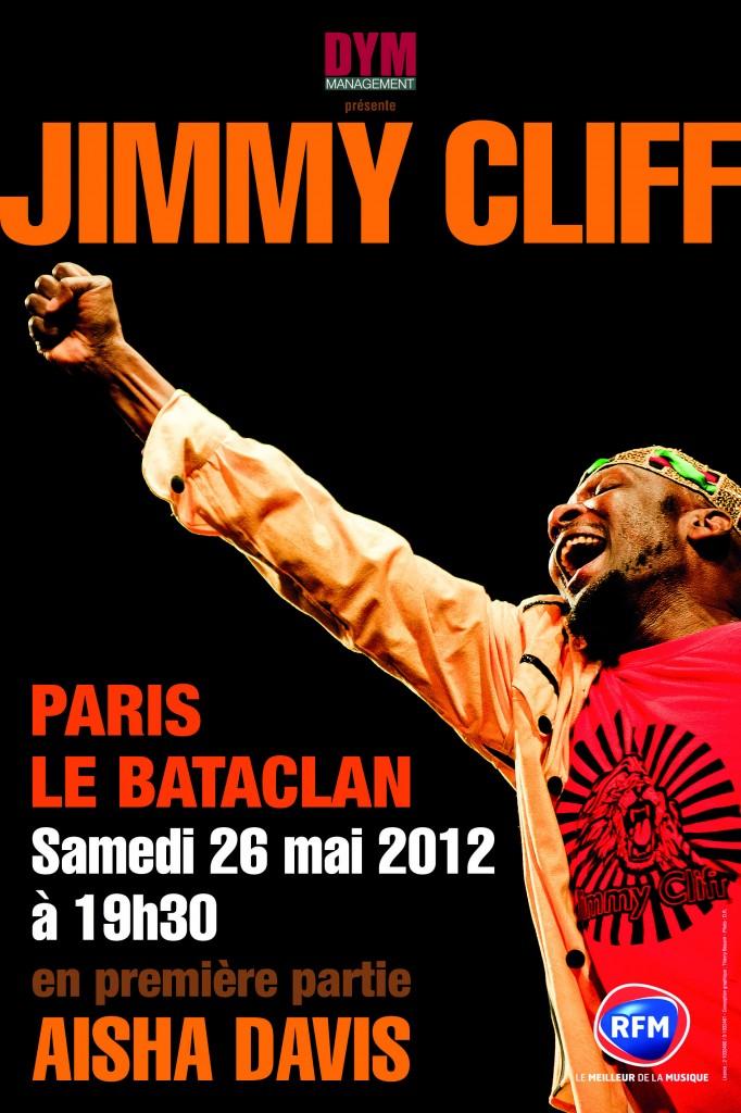 Jimmy Cliff en concert unique au Bataclan samedi 26 mai 2012