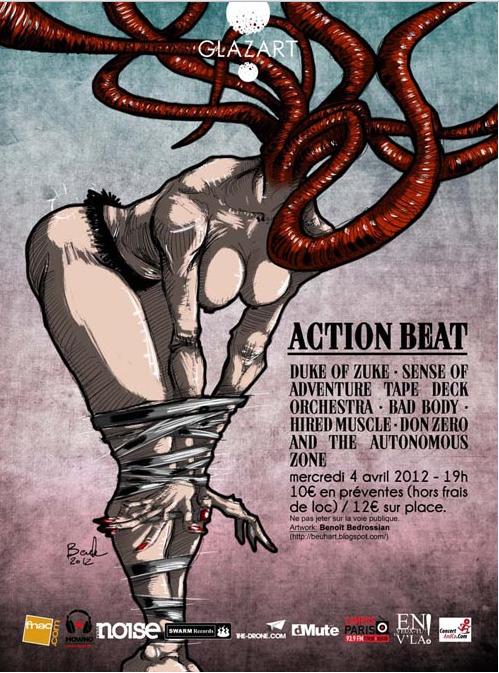 Gagnez 4×2 places pour ACTION BEAT & friends à Glazart le 04/04