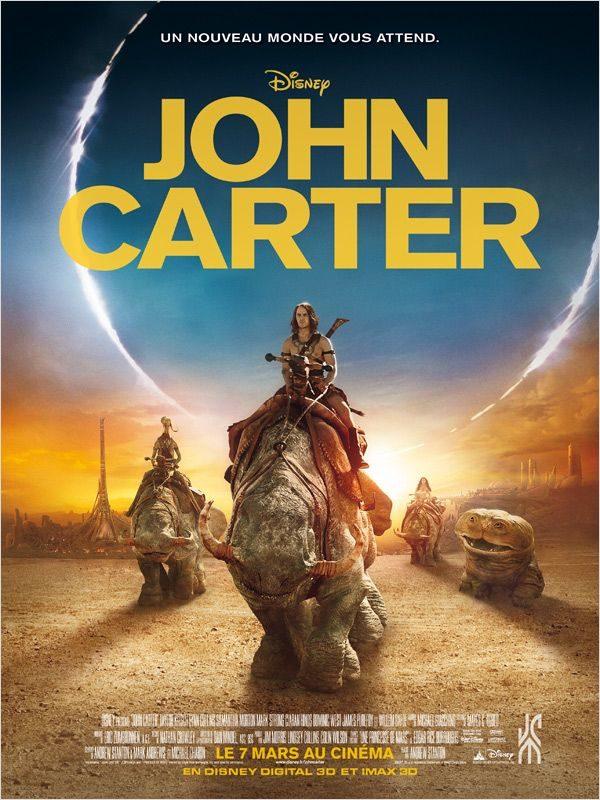 Critique de John Carter (of Mars): Epopée ambitieuse et généreuse (à moitiée réussie)