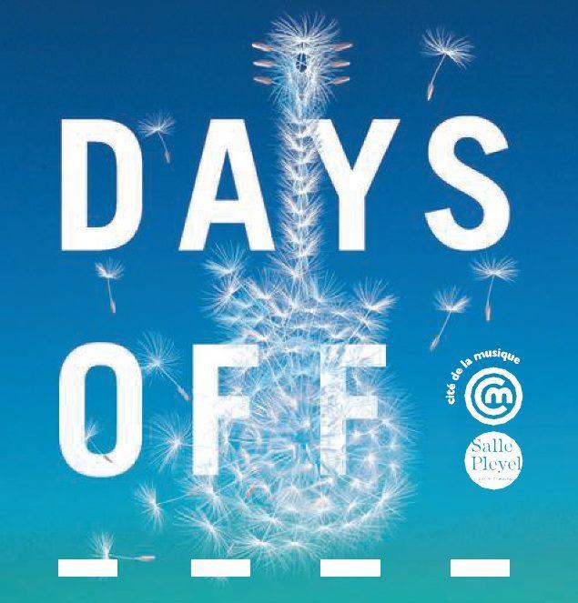 Festival : les premiers noms du Festival Days Off à Paris