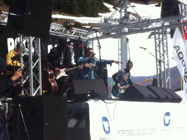 Rock the pistes-J 2- La révélation Mani