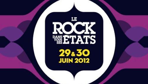 Programmation 2012 du Rock Dans Tous Ses Etats