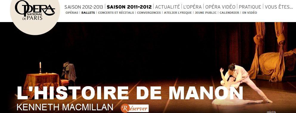 L'étoile Clairemarie Osta fait ses adieux dans <em></noscript>L'Histoire de Manon</em>