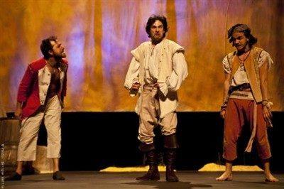 Les Fourberies de Scapin au théâtre de la porte Saint-Martin