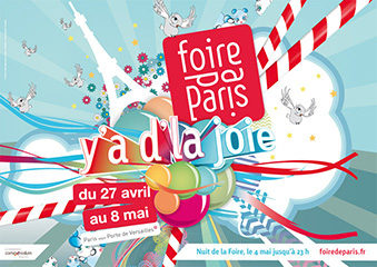 108e foire de Paris : Y'a d'la joie