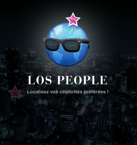 Une application IPhone de géolocalisation de people