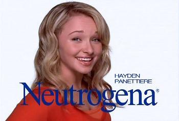 Hayden Panettiere : nouvelle égérie Neutrogena