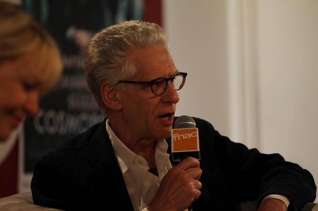 Rencontre : maître Cronenberg fait sa leçon
