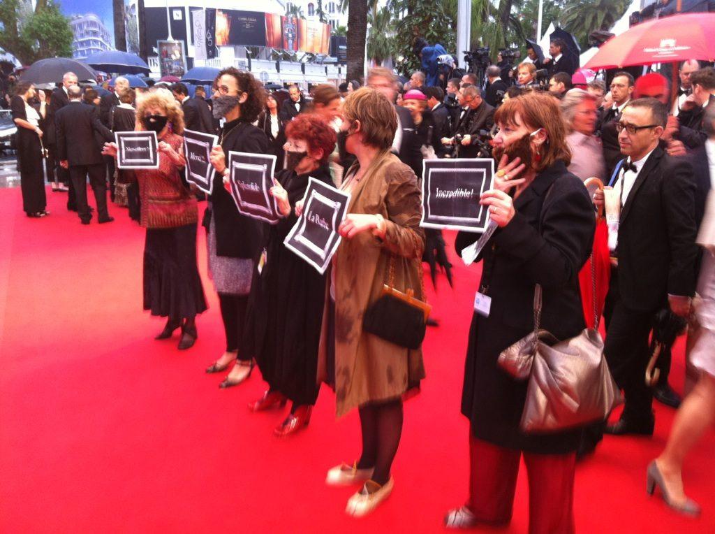 La Barbe à Cannes : Interview du groupe d'action féministe