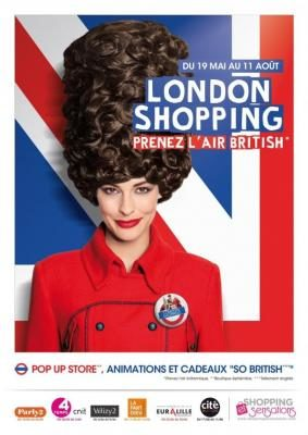 « London Shopping » : la culture d'outre-Manche made in France !