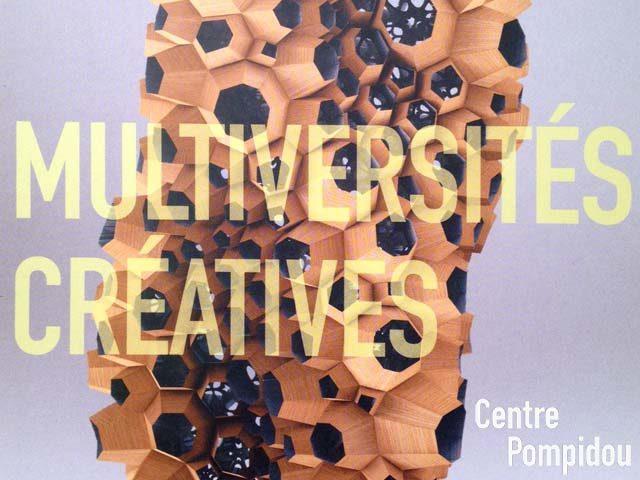 Des nouveaux espaces de création au Centre Pompidou : Multiversités Créatives