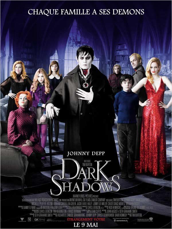 Dark Shadows: Tim Burton et Johnny Depp en pilotage automatique mineur