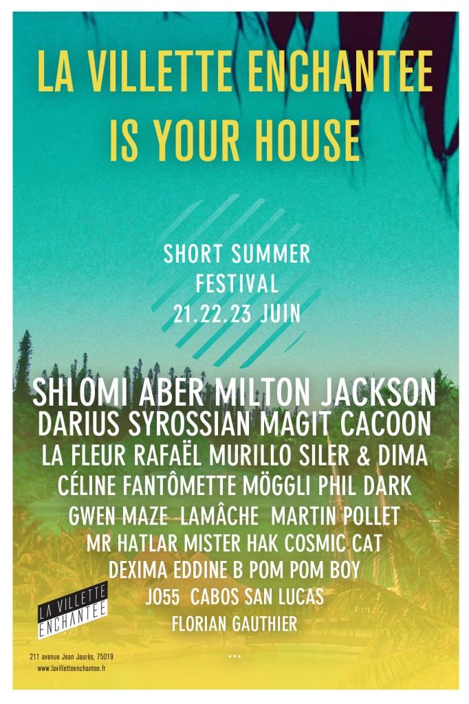 Gagnez 5 pass pour le Short summer festival de la Villette Enchantée du 21 au 23 juin