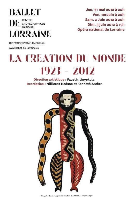 La Création du Monde 1923-2012: conscience africaine !