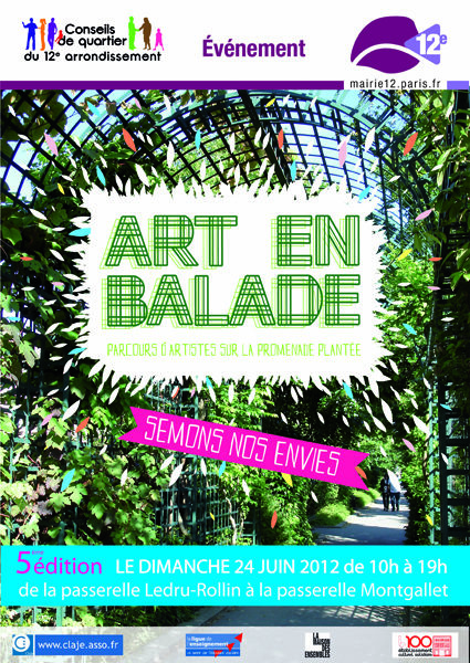 Déambulez avec Art en Balade!