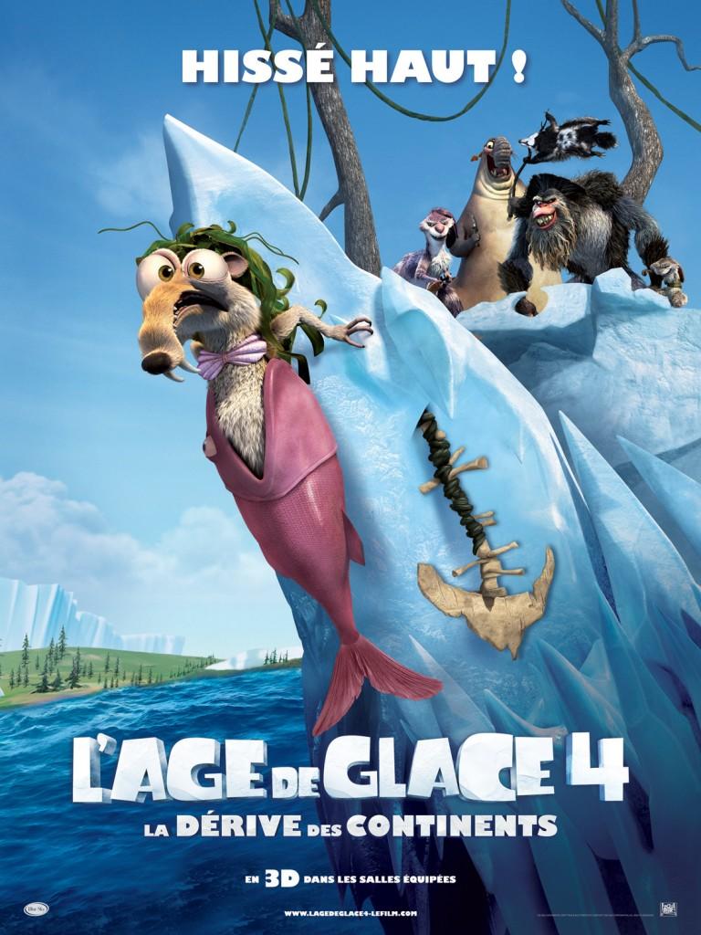 L'Age de Glace 4 : les nouvelles aventures de Manny, Sid et Diego (sortie le 27 juin)