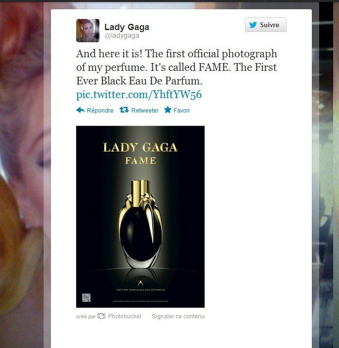 Lady Gaga se lance dans le parfum