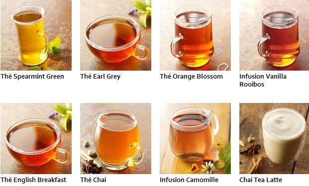 Starbucks reprend du thé