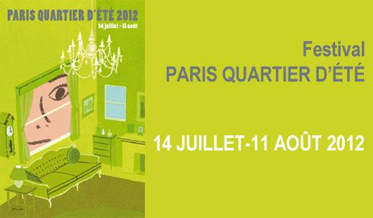23e édition Paris quartier d'été