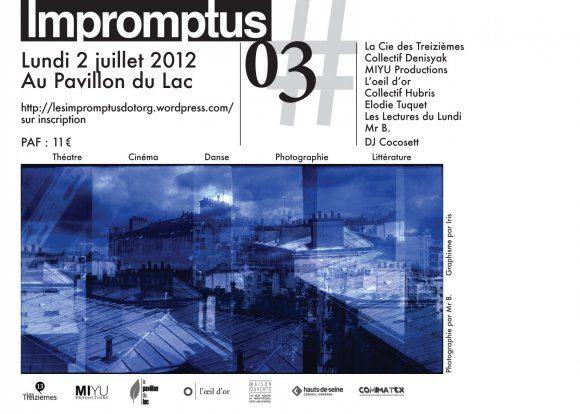 Gagnez 2×2 places pour la soirée Impromptus #3 aux Buttes Chaumont le 2 juillet
