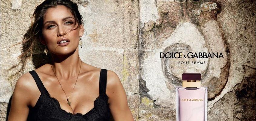Laetitia Casta amabassadrice du parfum Dolce & Gabbana, «Pour femme»