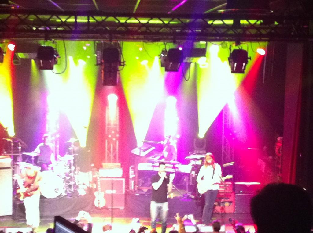 [Live-Report] : Maroon 5, un concert So Music à l'occasion de la sortie du 4e album Overexposed (04/06/2012)