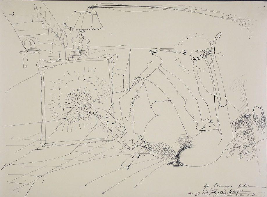 Des aquarelles érotiques de Bellmer, Fautrier et Masson, en hommage à Bataille à Vezelay
