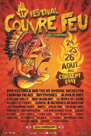 Gagnez 2 pass de 3 jours pour le festival Couvre Feu