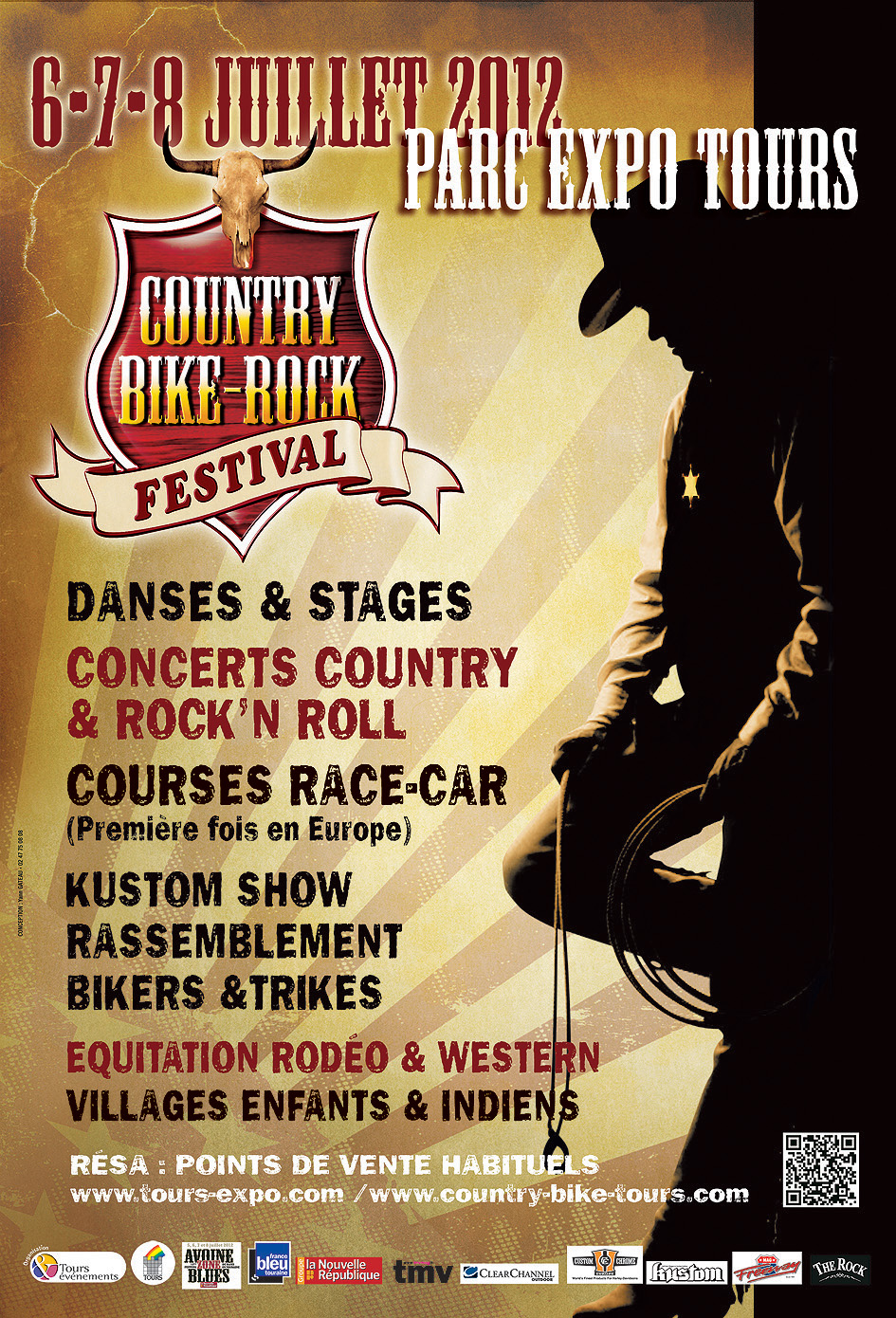 country bike rock festival