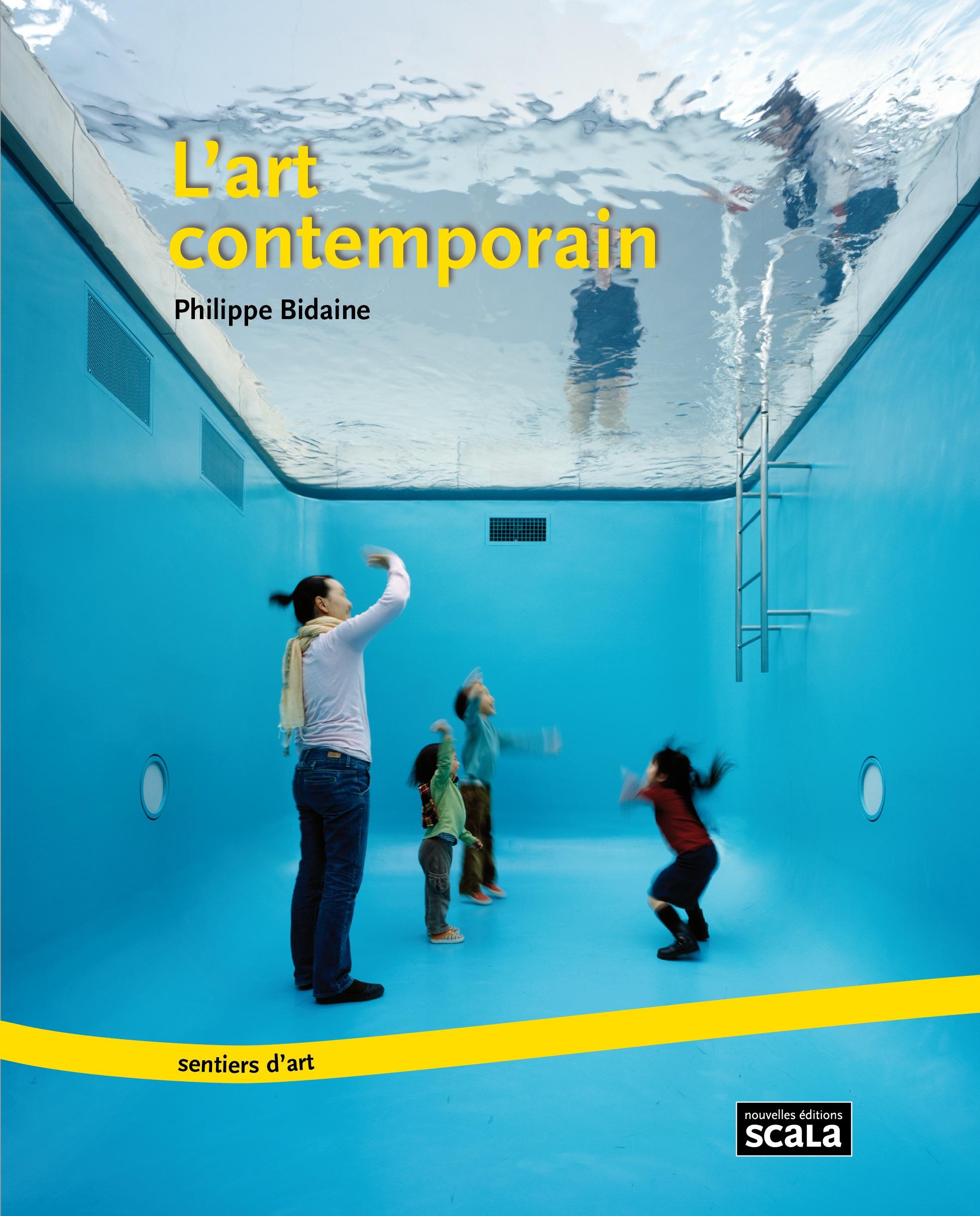 Introduction l art contemporain par philippe bidaine for Art contemporain livre