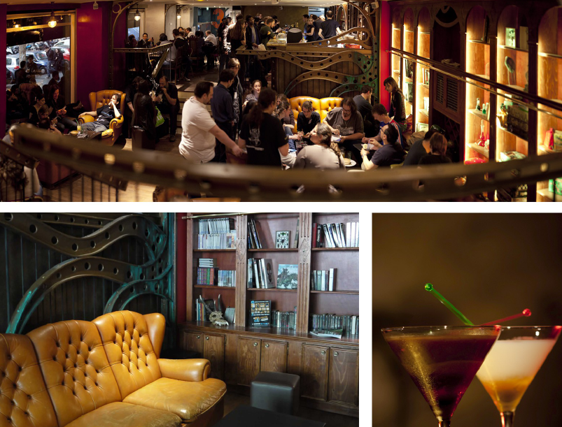 Le Dernier Bar avant la Fin du Monde, un grand espace pour geeks ouvre près du Châtelet