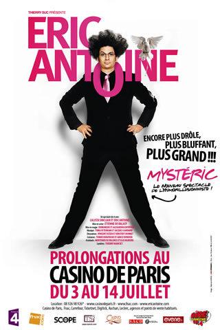 'Mystéric', le nouveau spectacle d'Eric Antoine au Casino de Paris