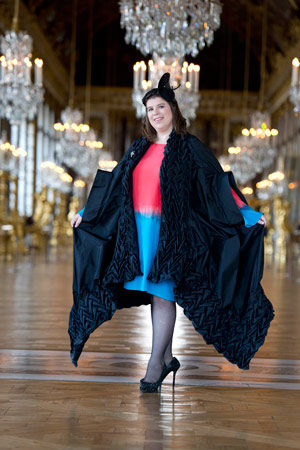 Couronnement et censure de Joana Vasconcelos au Château de Versailles.