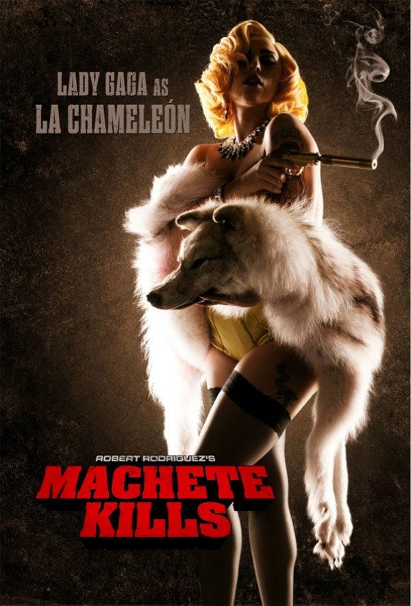 Lady Gaga au cinéma dans Machette Kills