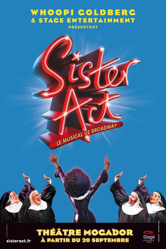 Sister Act : coulisses du spectacle et interview d'Aurélie Konaté