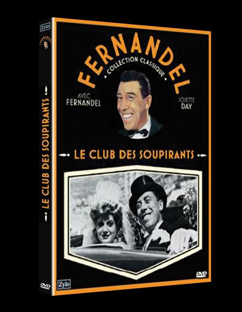Le club des soupirants de Maurice Gleize sort en Dvd