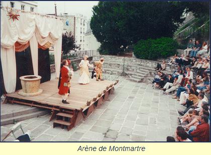 Tréteaux nomades : le théâtre est itinérant à Montmartre