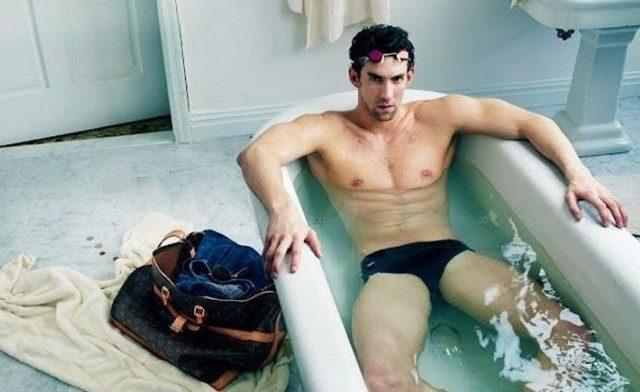 Louis Vuitton s'offre Michael Phelps dans l'objectif d'Annie Leibovitz